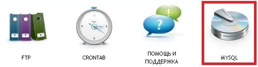 Вход в MYSQL.