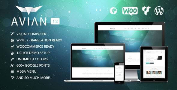 Avian - Premium WordPress Theme