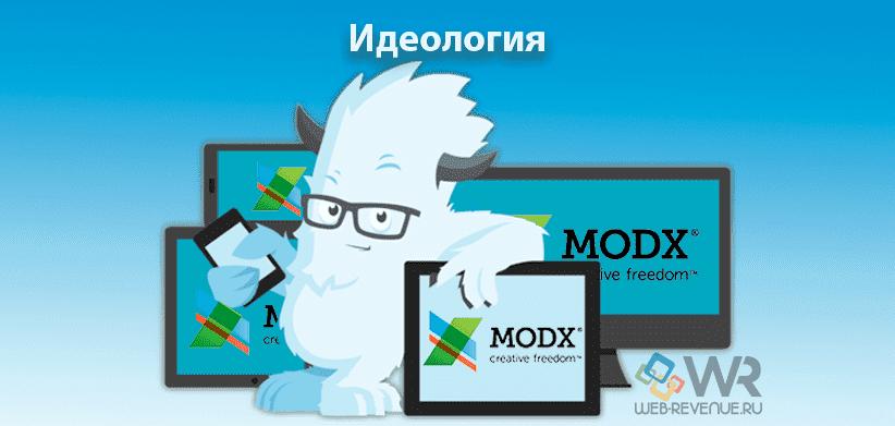 Идеология MODX Revolution