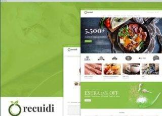 Шаблон Magento тема продуктовый магазин