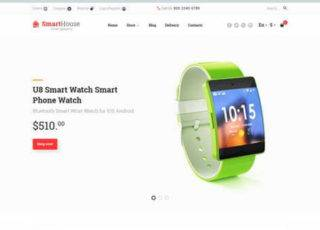 OpenCart шаблон на тему магазин электроники