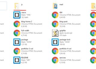 Перенос html шаблона в MODX
